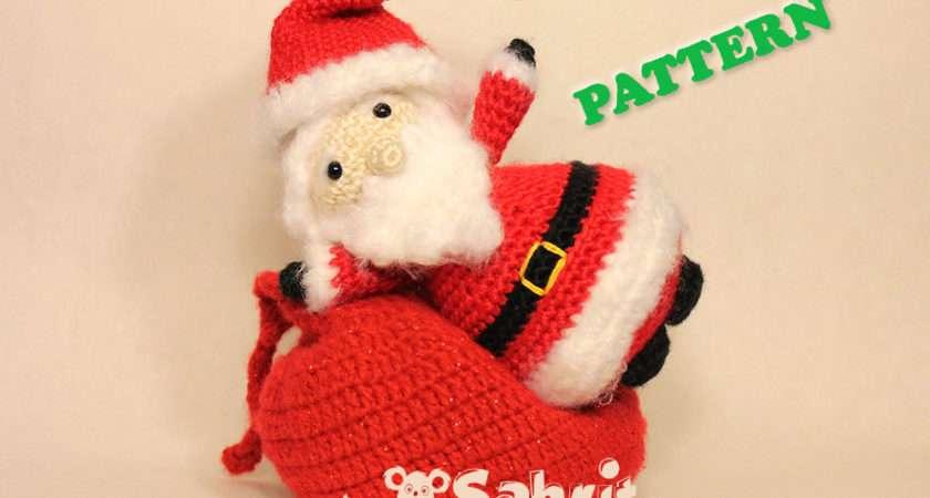Santa Claus Amigurumi Pattern Sahrit Wonderland
