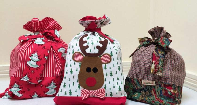 Santa Sack Sewing Tutorial Applique Felicity