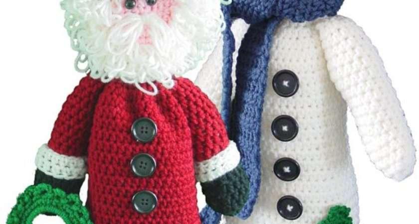 Santa Snowman Bag Keeper Patterns Pdf