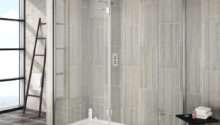 Saturn Walk Shower Enclosure Side Hinged Return