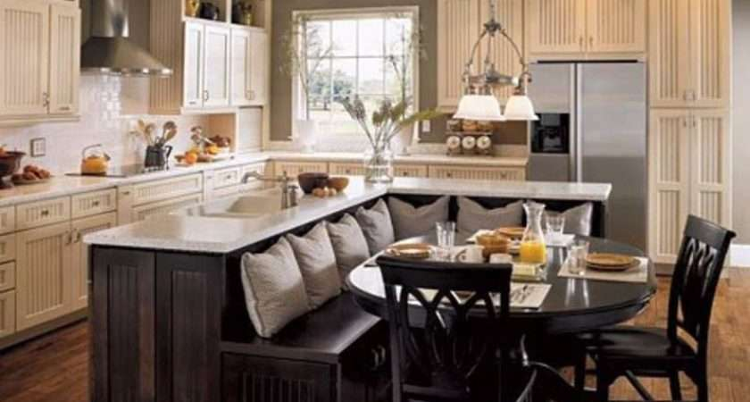 Save Space Combine Kitchen Island Dining Table Manteresting