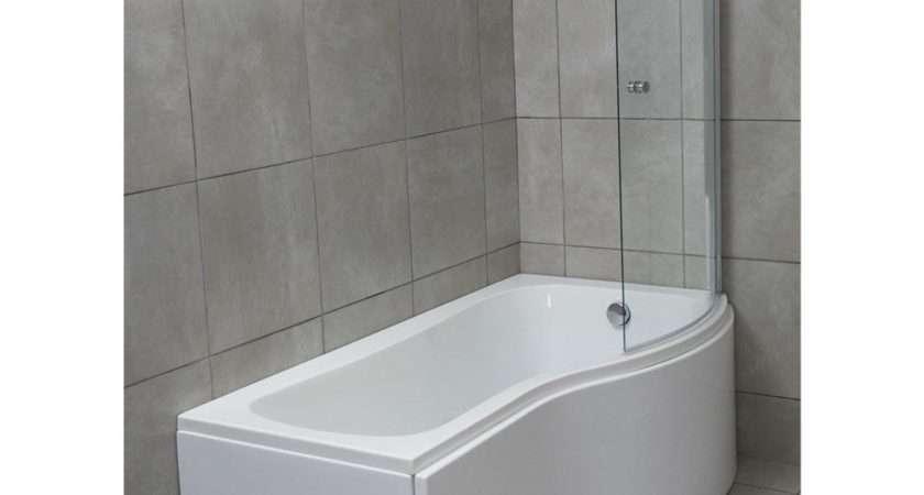 Savisto Shaped Right Hand Shower Bath Panel