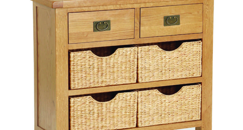 Sawrey Oak Drawer Basket Sideboard Cumbria