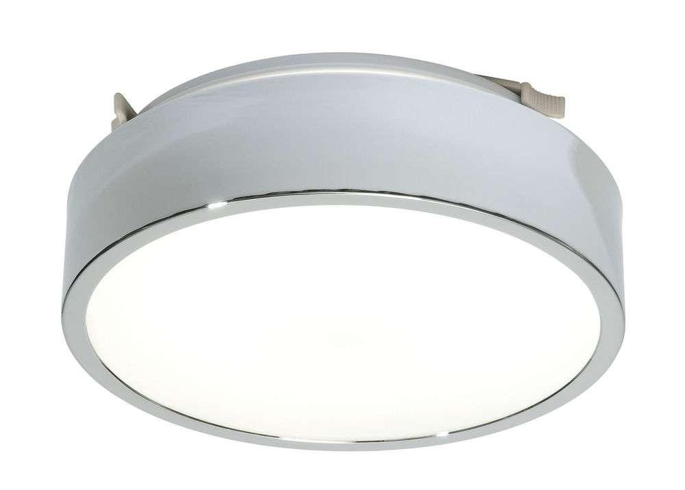 Saxby Lipco Modern Chrome Low Energy Flush Bathroom Ceiling