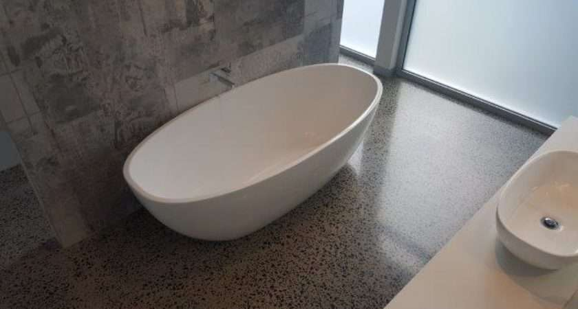 Say Yes Polished Concrete Bathrooms Eco Grind