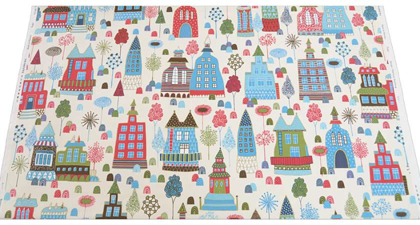 Scandinavian Fabrics Sandbergkids Sandberg Kids Saga