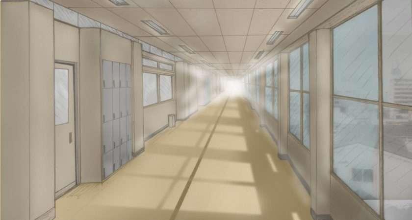 School Hallway Kel Chan Newgrounds
