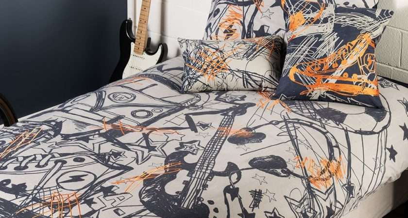 Scribble Quilt Cover Set Kids Bedding Dreams