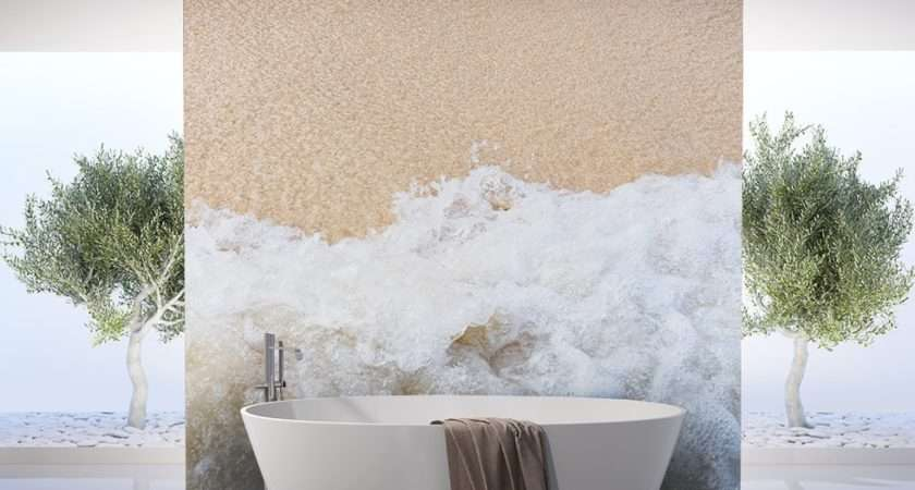 Sea Breeze Bathroom Mural
