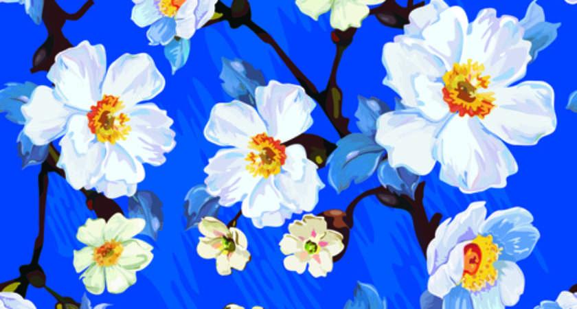 Seamless Floral Patterns Freecreatives