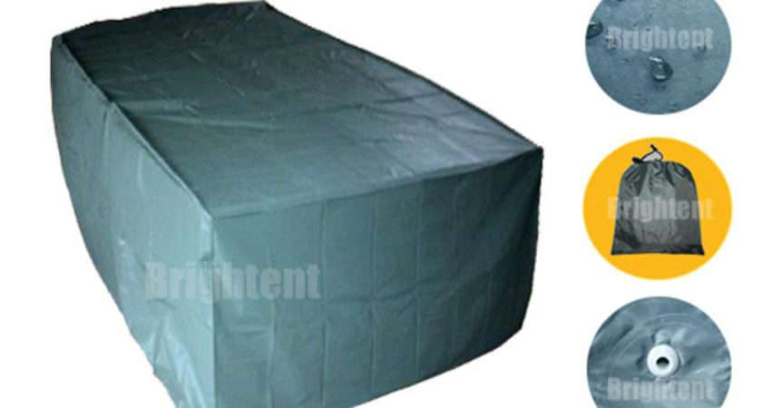 Seater Garden Patio Table Cover Waterproof Outdoor Furniture Shelter