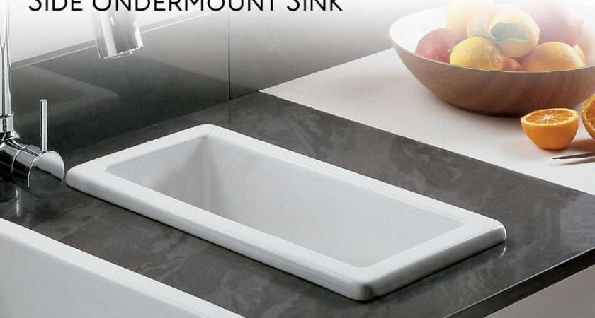 Secondary Food Preparation Sink Positioned Next Primary