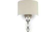 Selby Nickel Wall Light Laura Ashley