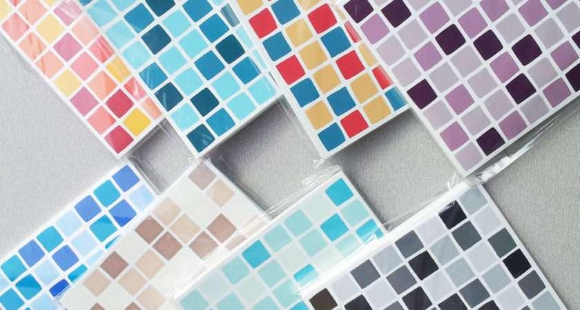 Self Adhesive Mosaic Tile Stickers Transfers Transform