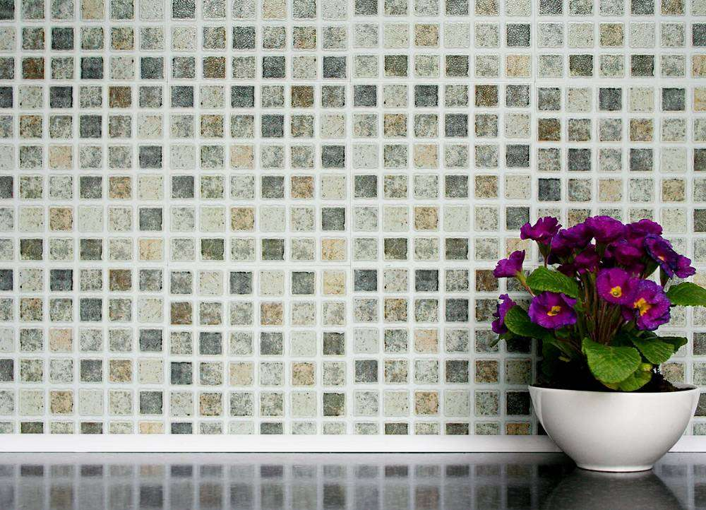 Self Adhesive Wall Tiles Kitchens Bathrooms Pastel Mosaic