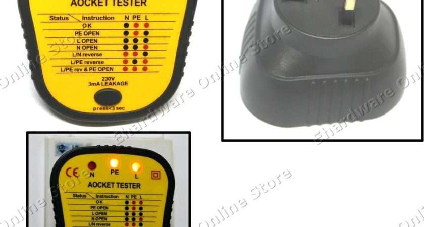 Sell Electric Switch Socket Outlet Faulty Tester Plug