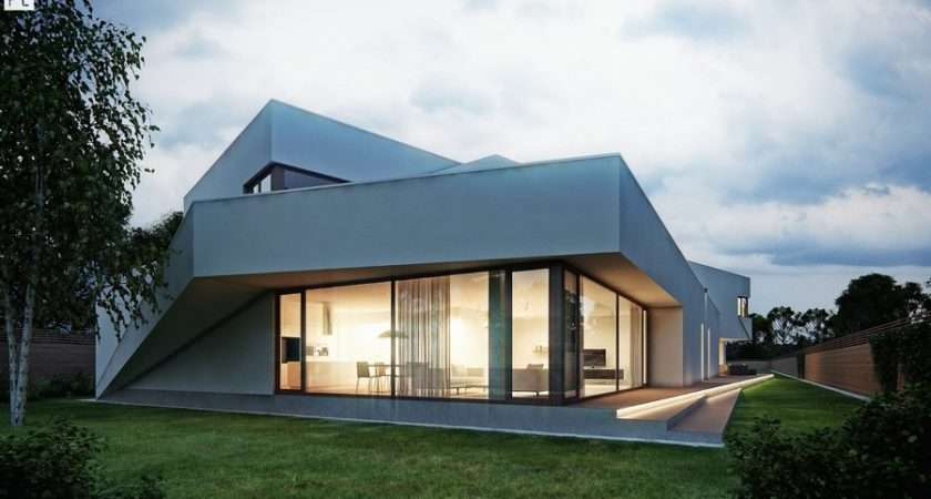 Semi Detached House Polish Residence Architect