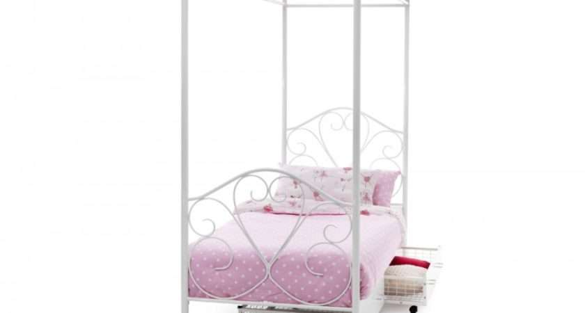 Serene Isabelle Single Poster Bed Frame Cheap Beds Direct