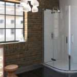 Series Frameless Offset Quadrant Shower Enclosure
