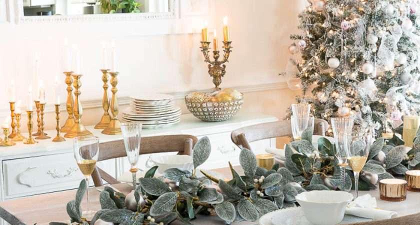 Set Beautiful Holiday Table Budget Shabbyfufu