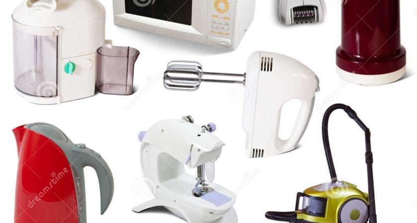 Set Household Appliances Photography