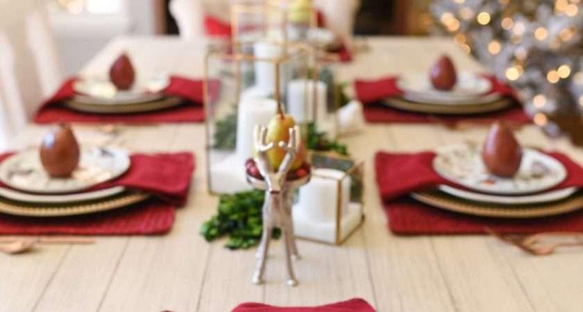 Set Informal Table Days Christmas