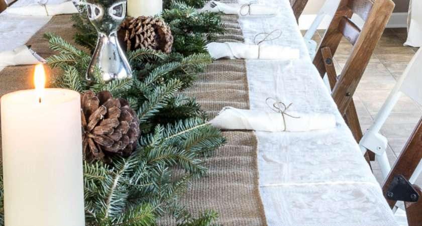 Set Large Holiday Table Budget