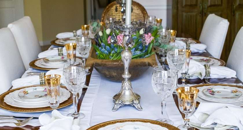 Setting Dining Table Reflect Your French Country Style