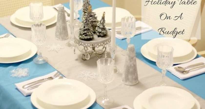 Setting Holiday Table Budget