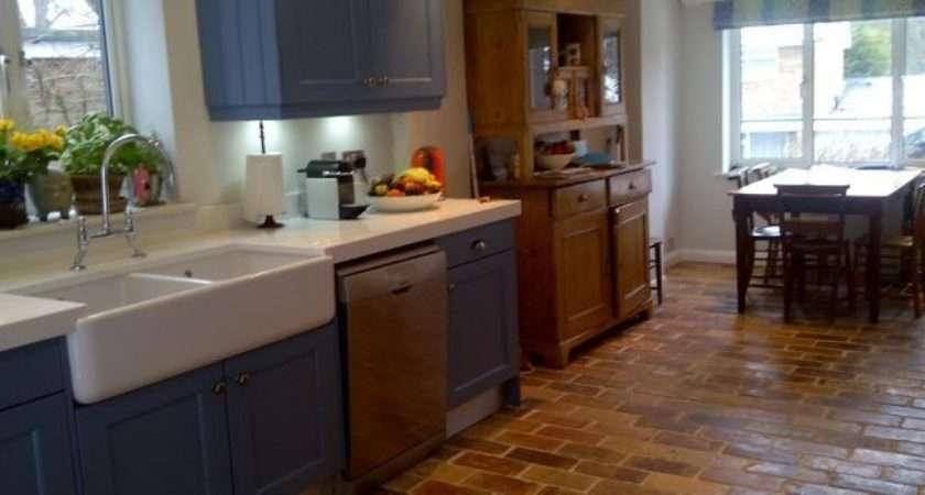 Sevenoaks Terracotta Tiled Kitchen