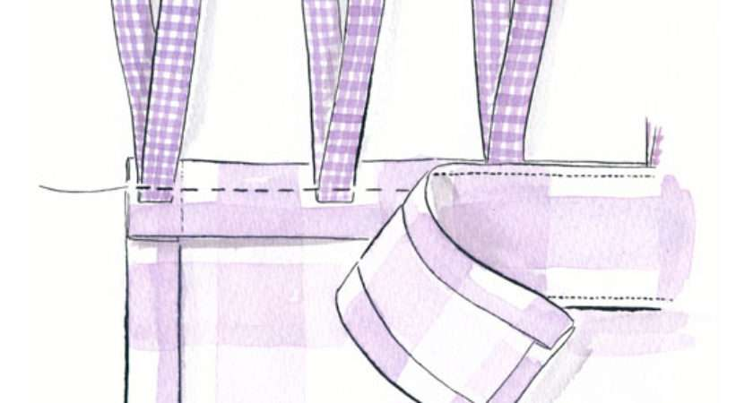Sew Tie Top Curtains Make Your Own