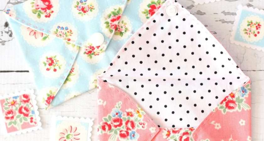 Sewing Tutorial Pretty Fabric Envelopes Spoonful