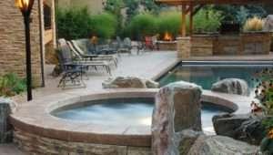 Sexy Hot Tubs Spas Outdoor Spaces Patio Ideas Decks Gardens