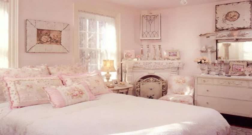 Shabby Chic Bedroom Bedrooms Adults Pink