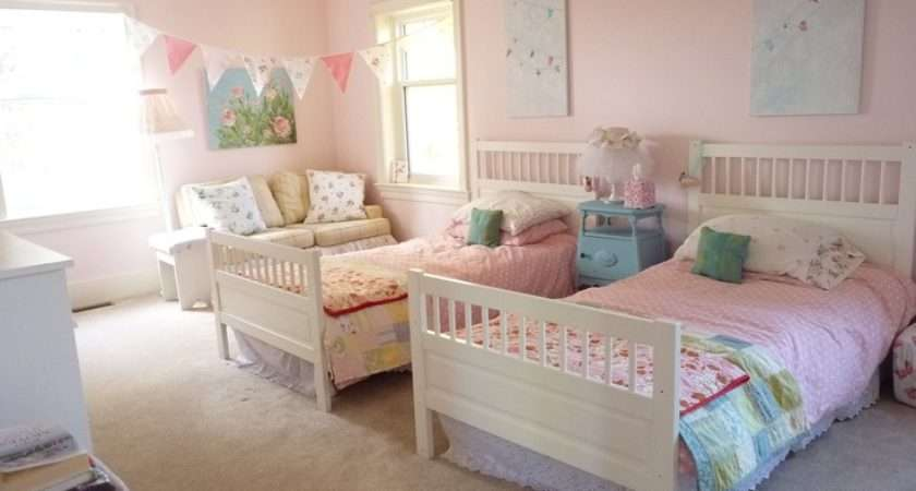 Shabby Chic Bedroom Twin Girls Natalia Emma Pin