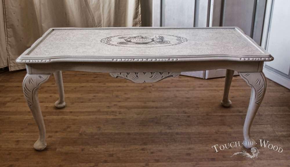 Shabby Chic Coffee Table Lentine Marine 52803