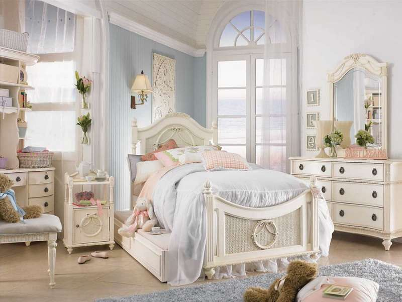 Shabby Chic Decorating Ideas Girls Bedroom Room