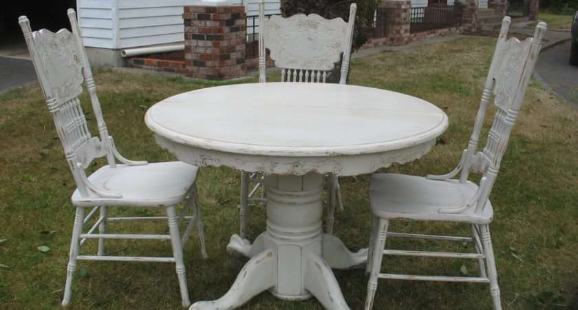 Shabby Chic Dining Room Table Chairs Second Sun