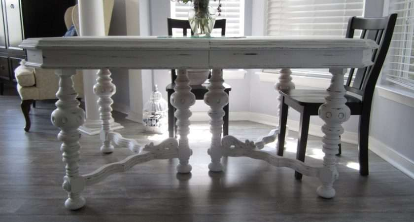Shabby Chic Dining Room Table Tables Pinterest