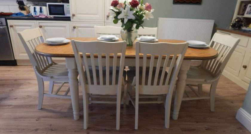 Shabby Chic Dining Table Peenmedia