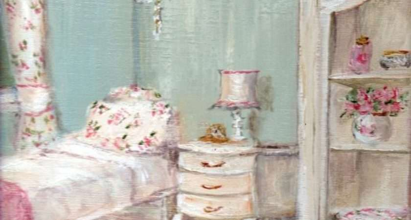 Shabby Chic Guest Room Painting Gail Mccormack Modern