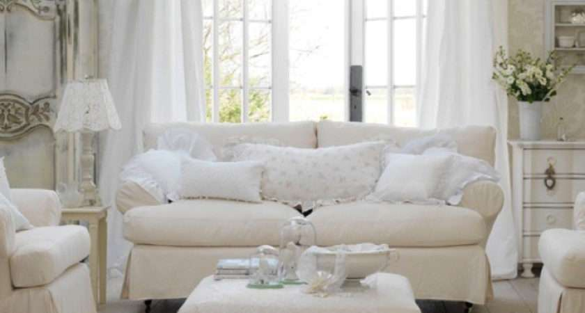 Shabby Chic Inspired Living Room Ideas Vintage