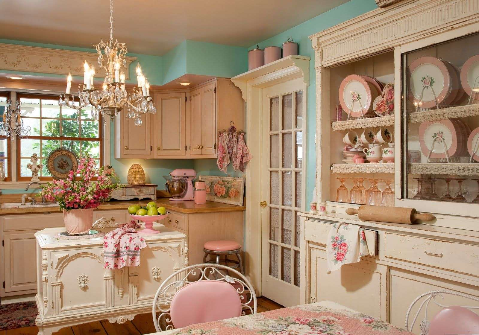 Shabby Chic Kitchen Decor Sweet Idea White