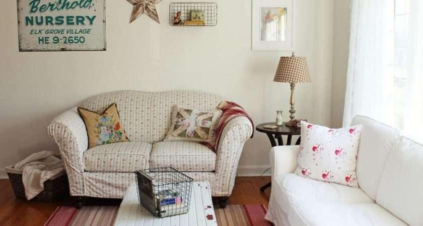 Shabby Chic Living Room Furniture Peenmedia