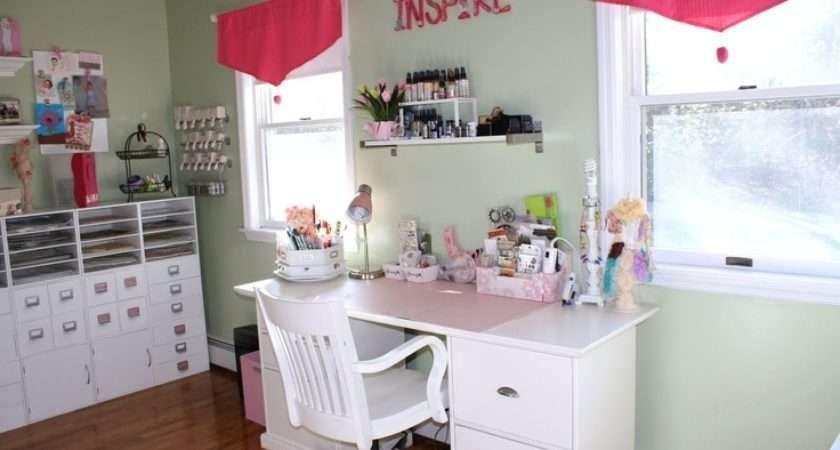 Shabby Chic Scrapbook Room Craft Ideas Pinterest