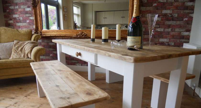 Shabby Chic Style Tables Hand Crafted Our Workshop