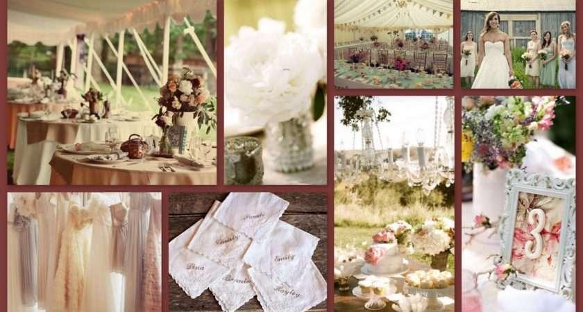 Shabby Chic Wedding Decor Ideas