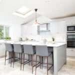 Shaker Kitchen Bespoke Handmade Wood Kitchens Maple Gray