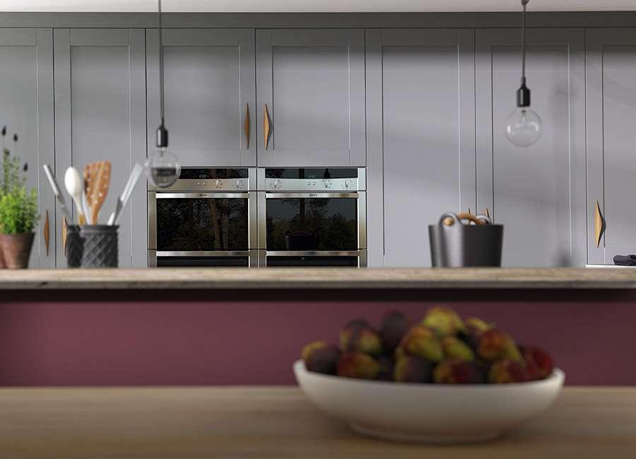 Shaker Kitchen Gullwing Aubergine Matt Additional