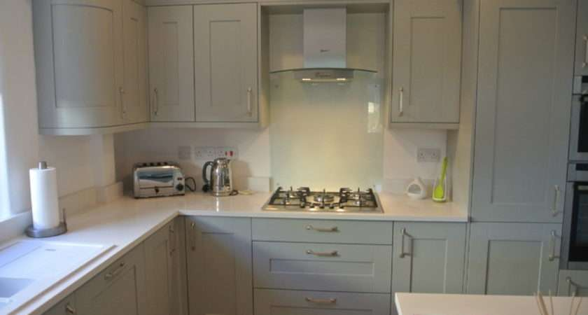 Shaker Painted Light Grey Traditional Kitchen Other